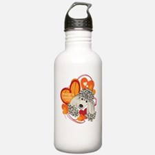 Poodle Rescue Water Bottle