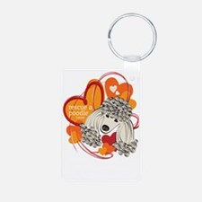 Poodle Rescue Keychains