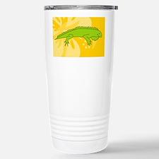 Iguana Patches Stainless Steel Travel Mug