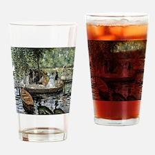 La Grenouillere Drinking Glass