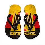 German flag Flip Flops