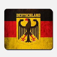 Vintage Deutschland Flag Mousepad