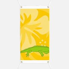 Iguana Twin Duvet Banner