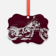 Motorcycle Art Ornament