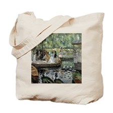 Pierre-Auguste Renoir La Grenouillere Tote Bag