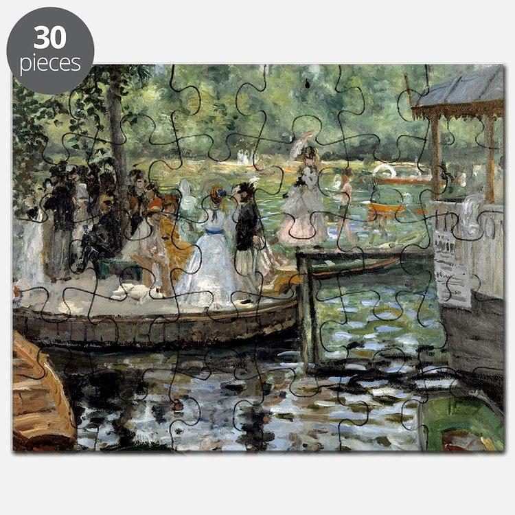 Pierre-Auguste Renoir La Grenouillere Puzzle