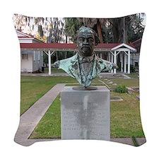 Robert Smalls - Beaufort, Sout Woven Throw Pillow
