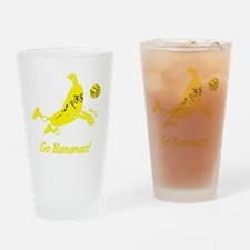 Go Bananas Drinking Glass