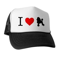 I Love Poodles Trucker Hat