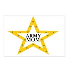 army mom star Postcards (Package of 8)