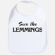 Save the LEMMINGS Bib