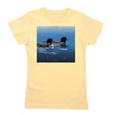 loon family Girl's Tee