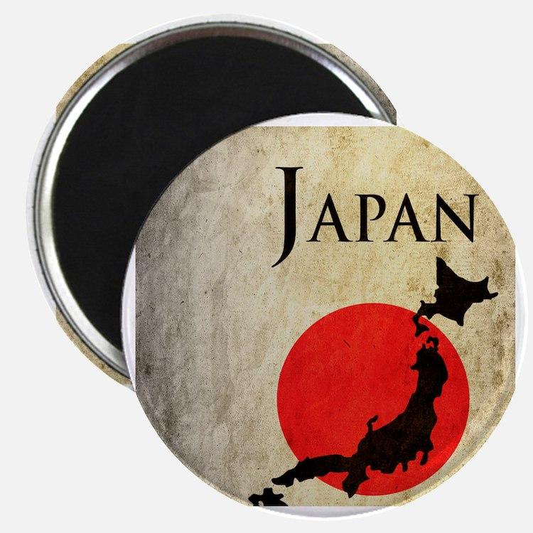 Map Of Japan Magnet