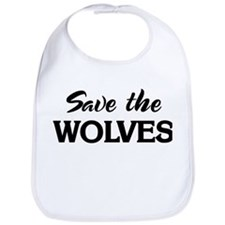 Save the WOLVES Bib