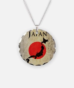 Map Of Japan Necklace