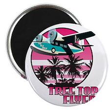Tree Top Flyer Pink Magnet