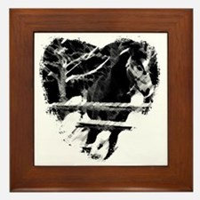 Horse Lover Framed Tile