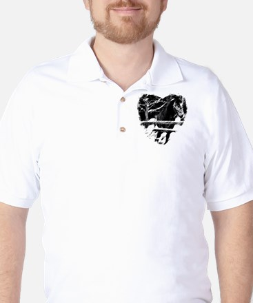 Horse Lover Golf Shirt