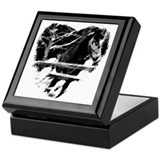 Horse themed Square Keepsake Boxes