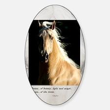 Golden Dream Horse Decal
