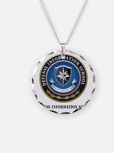 Defense Information School w Necklace