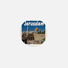jerusalem Mini Button