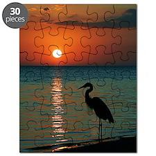Meditation At Sunset Puzzle