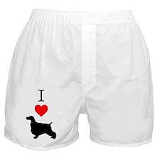 I love English Springer Spaniels Boxer Shorts