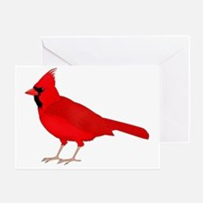 Claret Cardinal Greeting Card