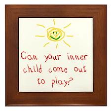 Inner Child Framed Tile