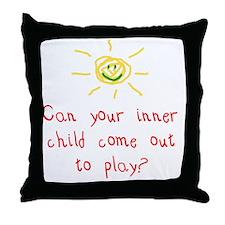 Inner Child Throw Pillow