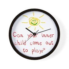 Inner Child Wall Clock
