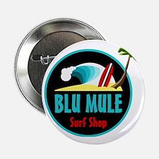 """Blu Mule Surf Shop 2.25"""" Button"""