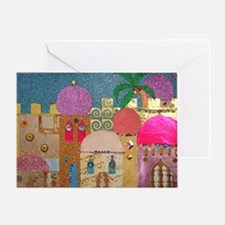 Holy Land Happy Christmas Greeting Cards