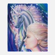 Unicorn Princess 16x20 Throw Blanket