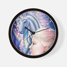 Unicorn Princess 16x20 Wall Clock