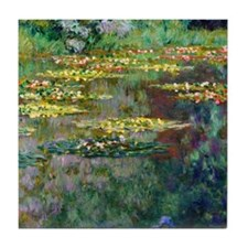Shower Monet Le Bassin Tile Coaster