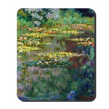 Shower Monet Le Bassin Mousepad