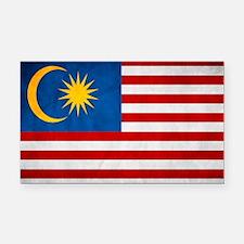 flag of Malaysia Jalur Gemila Rectangle Car Magnet