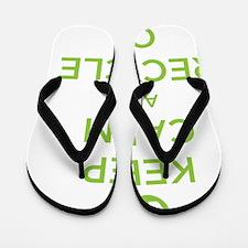 recycle on Flip Flops