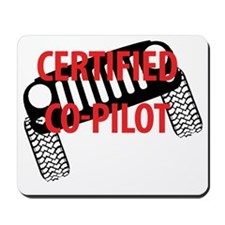 Certified Co-Pilot Mousepad
