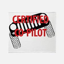 Certified Co-Pilot Throw Blanket