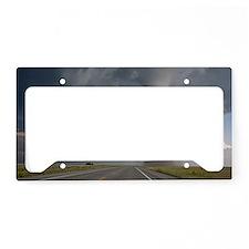 Baca / Campo tornado License Plate Holder