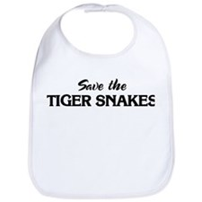 Save the TIGER SNAKES Bib