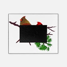 Cardinal Couple on a Branch Picture Frame