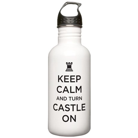 turn castle on Stainless Water Bottle 1.0L