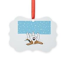 snowbeaglemousepad Ornament