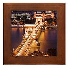 Budapest Framed Tile