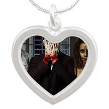 The Sinner Silver Heart Necklace