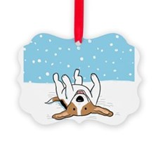 snowbeaglewallet Ornament